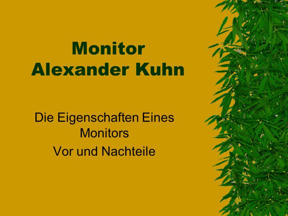 Monitor Alexander Kuhn