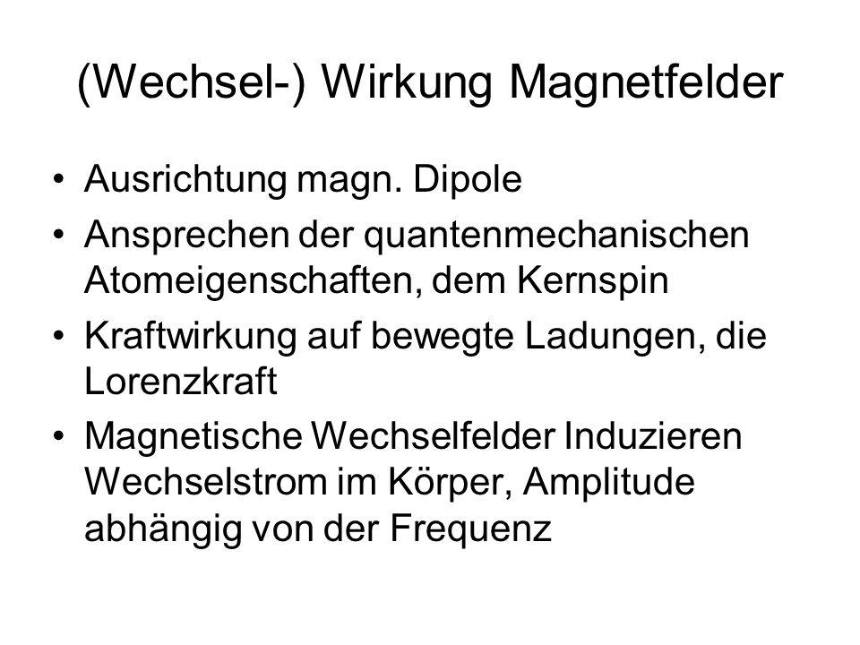 (Wechsel-) Wirkung Magnetfelder