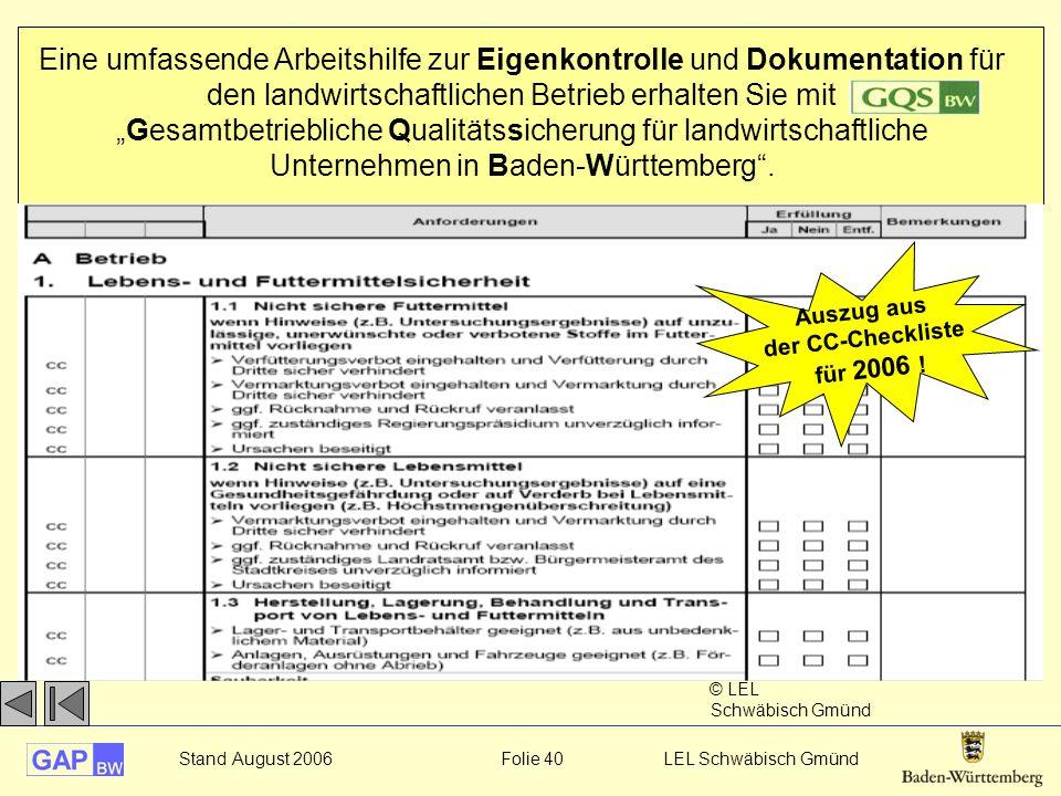 """Eine umfassende Arbeitshilfe zur Eigenkontrolle und Dokumentation für den landwirtschaftlichen Betrieb erhalten Sie mit """"Gesamtbetriebliche Qualitätssicherung für landwirtschaftliche Unternehmen in Baden-Württemberg ."""