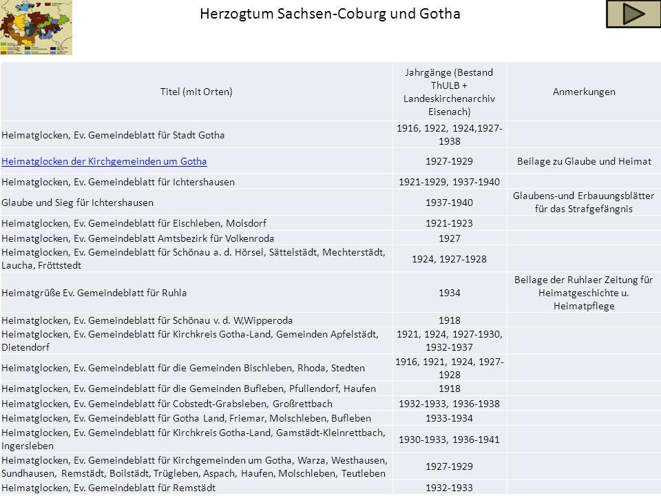 Herzogtum Sachsen-Coburg und Gotha