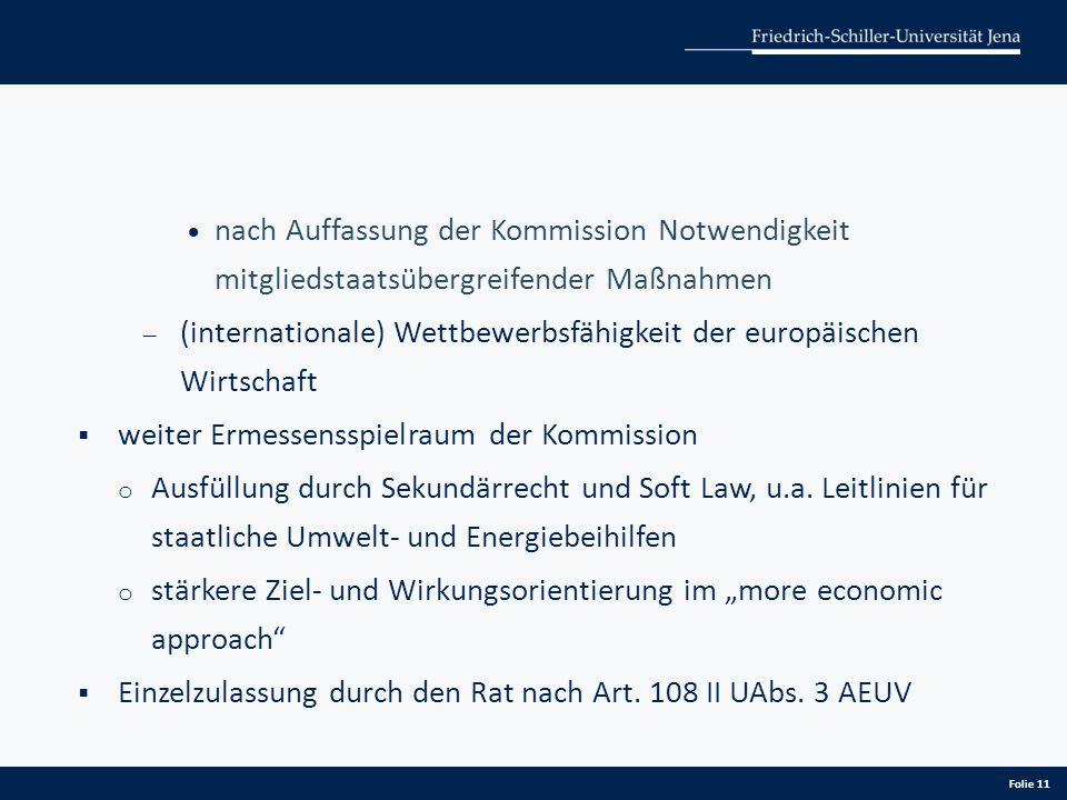 nach Auffassung der Kommission Notwendigkeit mitgliedstaatsübergreifender Maßnahmen