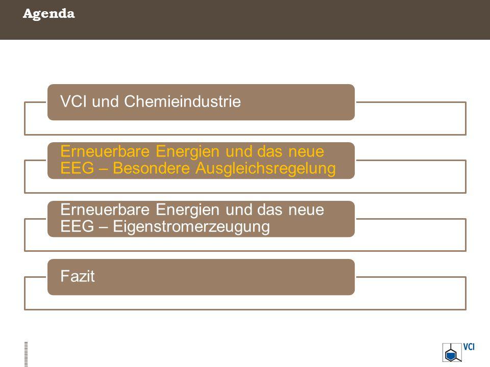 VCI und Chemieindustrie