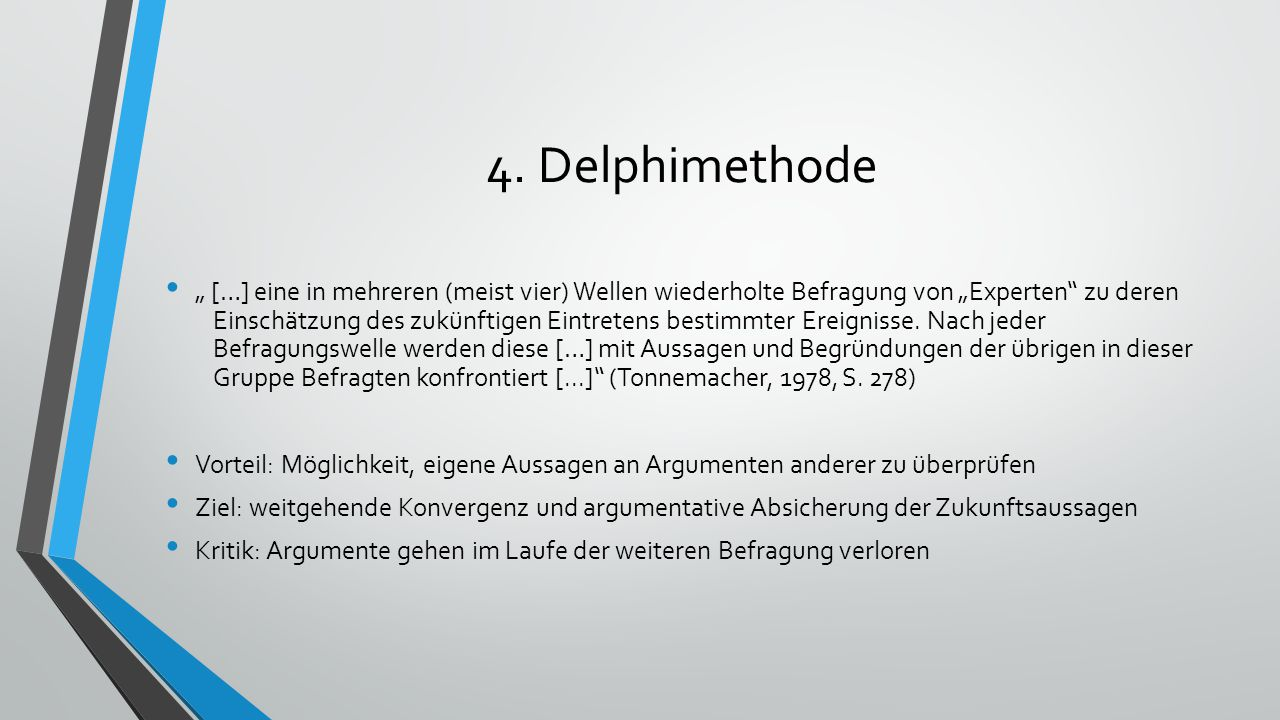 4. Delphimethode