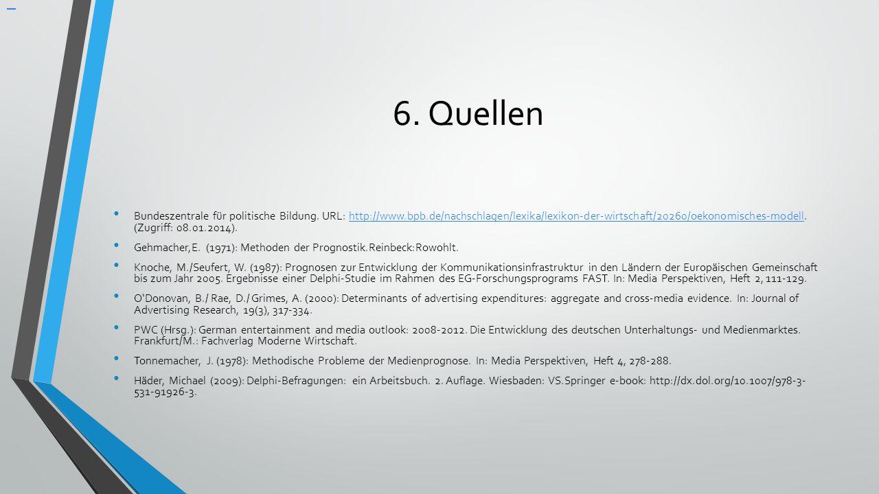 6. Quellen