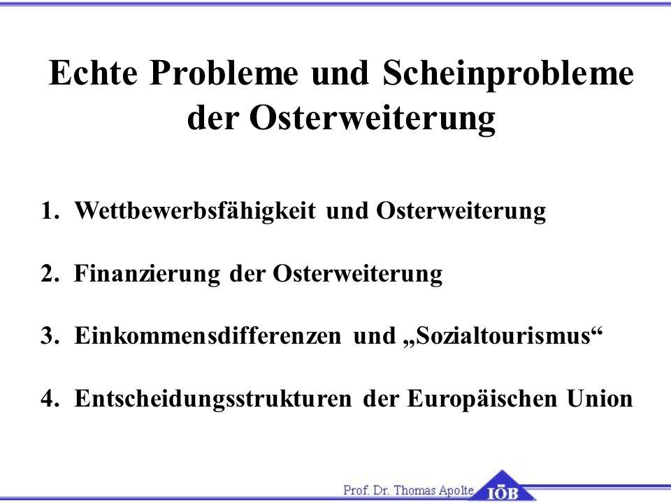 Echte Probleme und Scheinprobleme