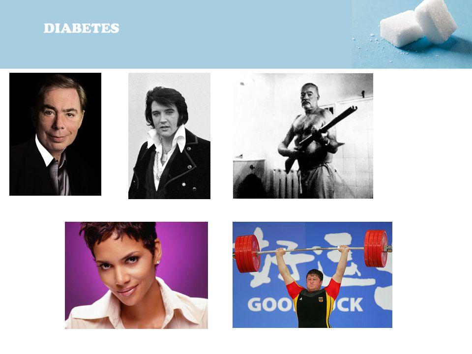 oben links: Andrew Lloyd Webber, Elvis, Ernest Hemingway,