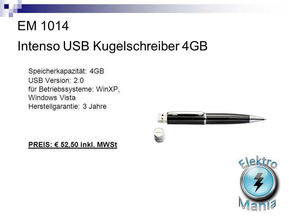 EM 1014 Intenso USB Kugelschreiber 4GB