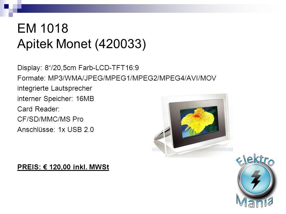 Elektro Mania EM 1018 Apitek Monet (420033)