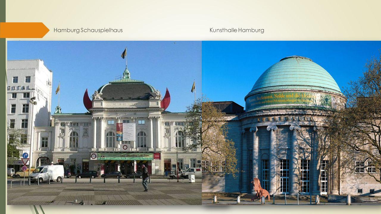 Hamburg Schauspielhaus Kunsthalle Hamburg