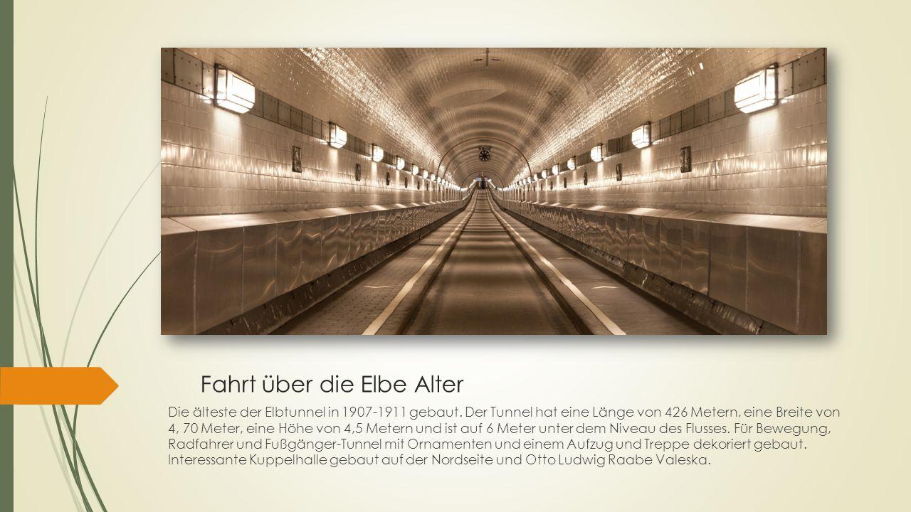 Fahrt über die Elbe Alter