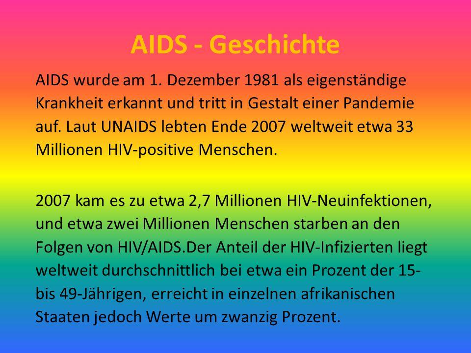 AIDS - Geschichte