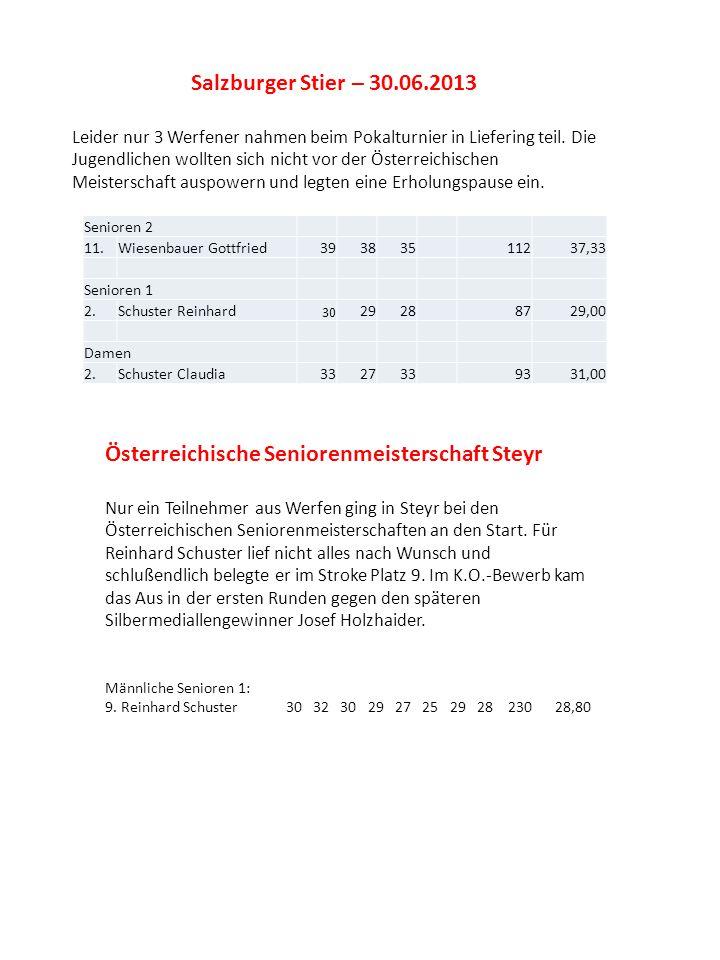 Österreichische Seniorenmeisterschaft Steyr