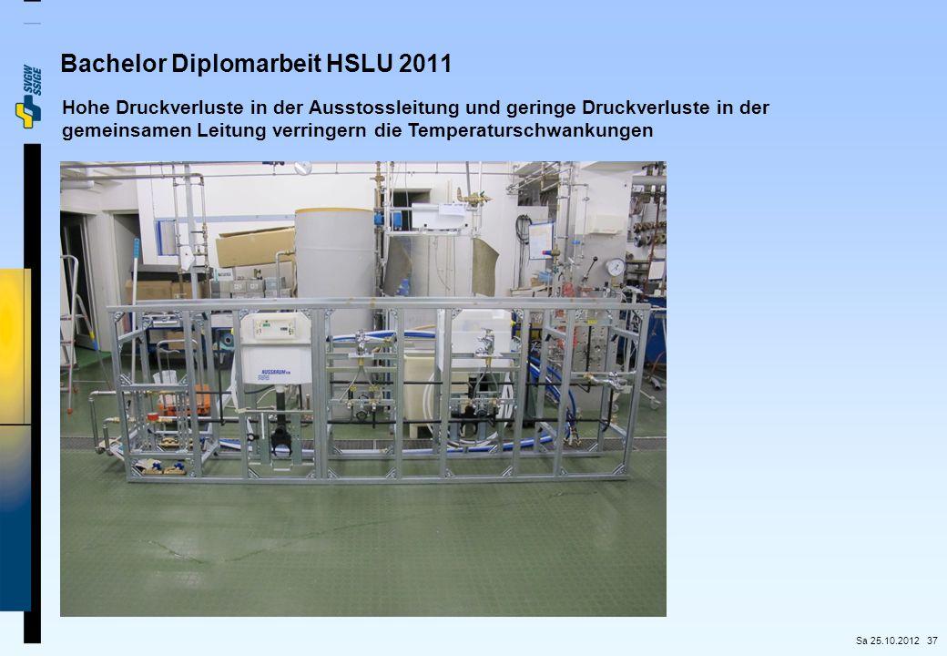 Bachelor Diplomarbeit HSLU 2011