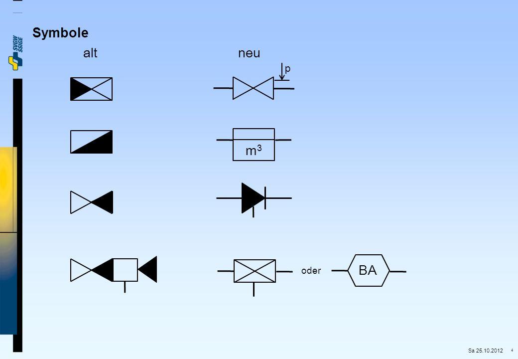Symbole alt neu p m3 BA oder Sa 25.10.2012
