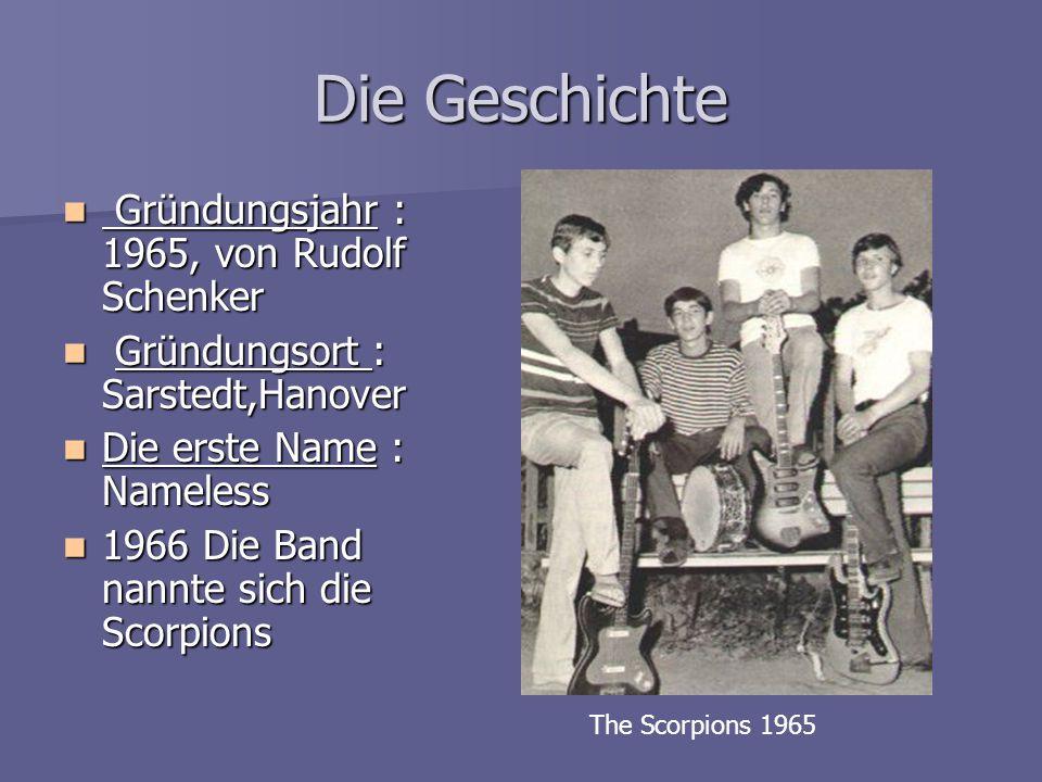Die Geschichte Gründungsjahr : 1965, von Rudolf Schenker
