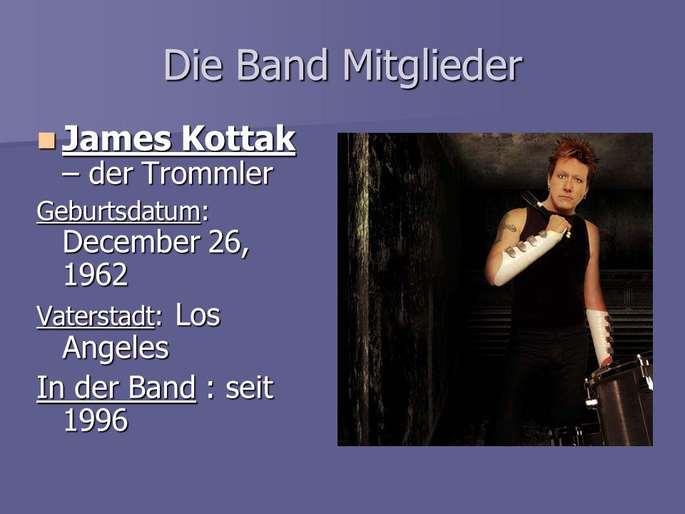Die Band Mitglieder James Kottak – der Trommler