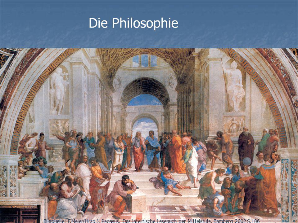Die Philosophie Bildquelle: F.Meier(Hrsg.), Pegasus.