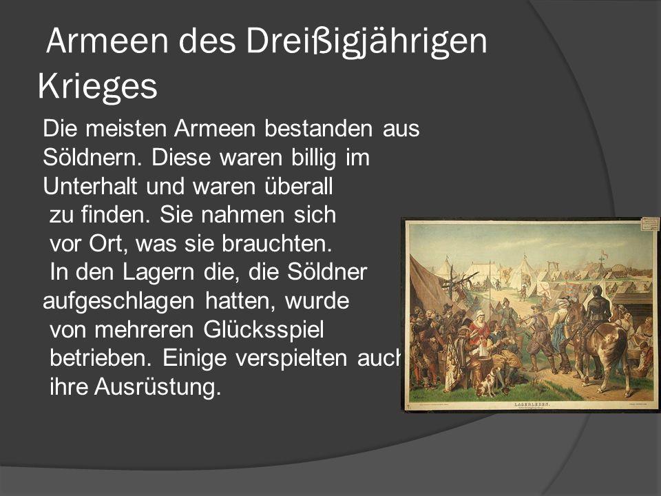 Armeen des Dreißigjährigen Krieges