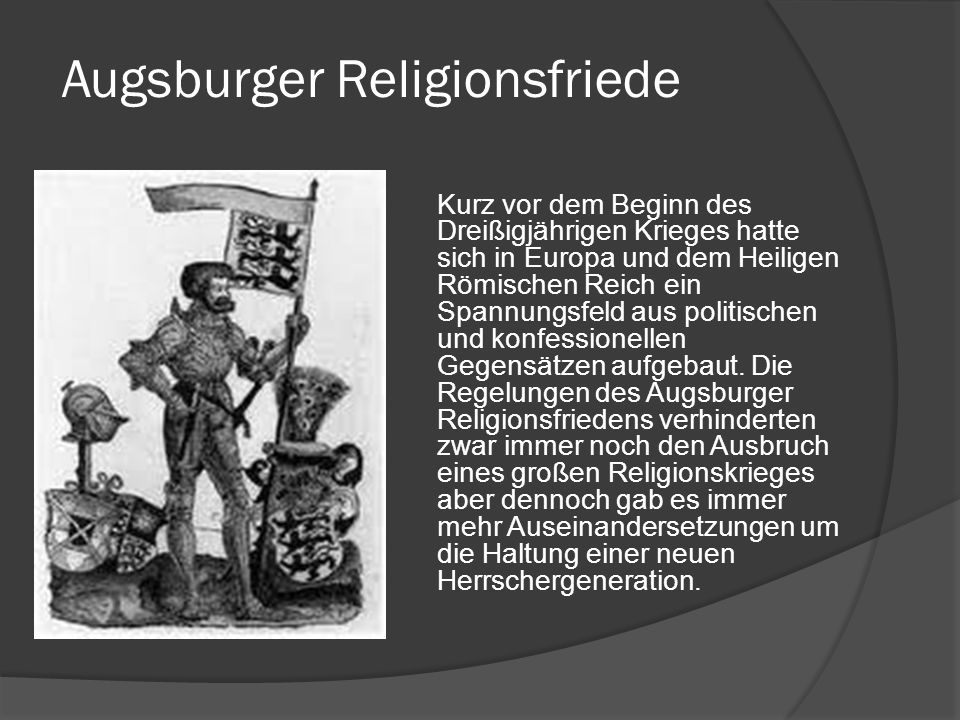 Augsburger Religionsfriede