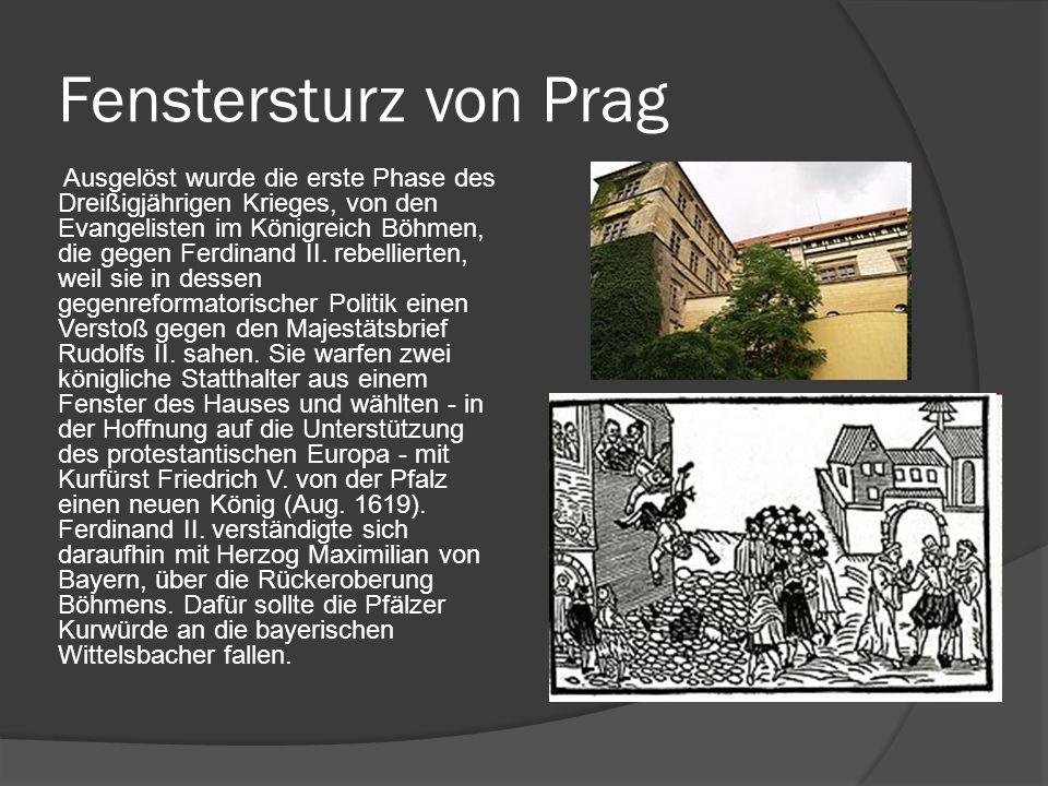 Fenstersturz von Prag