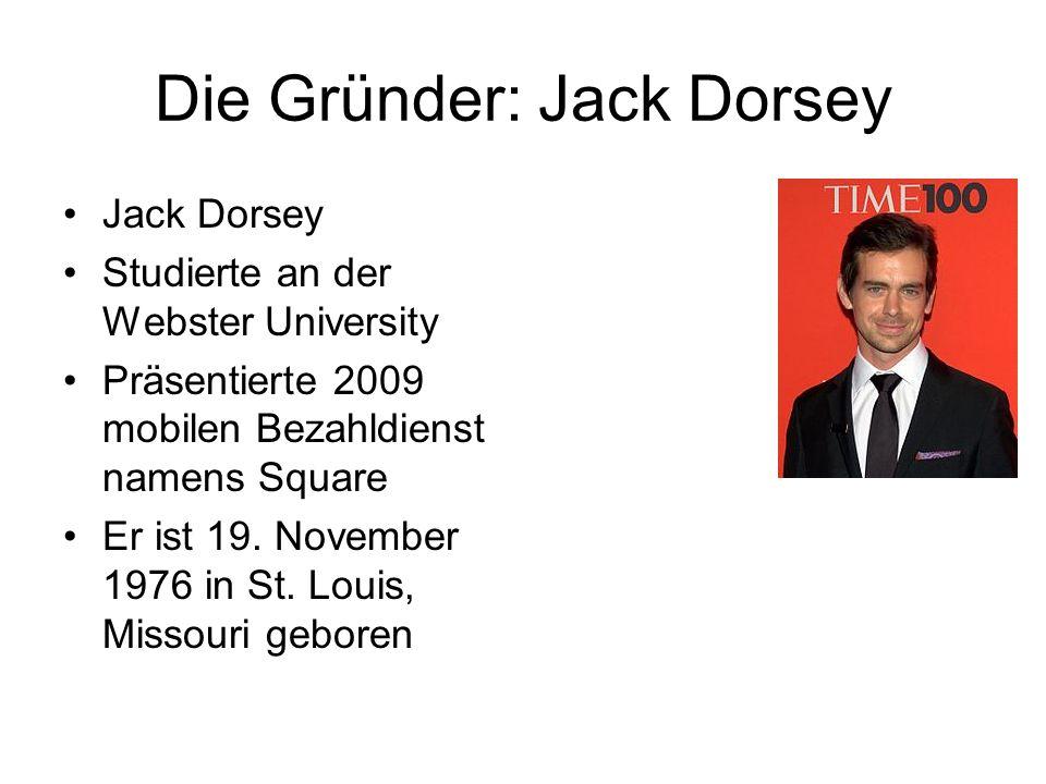 Die Gründer: Jack Dorsey