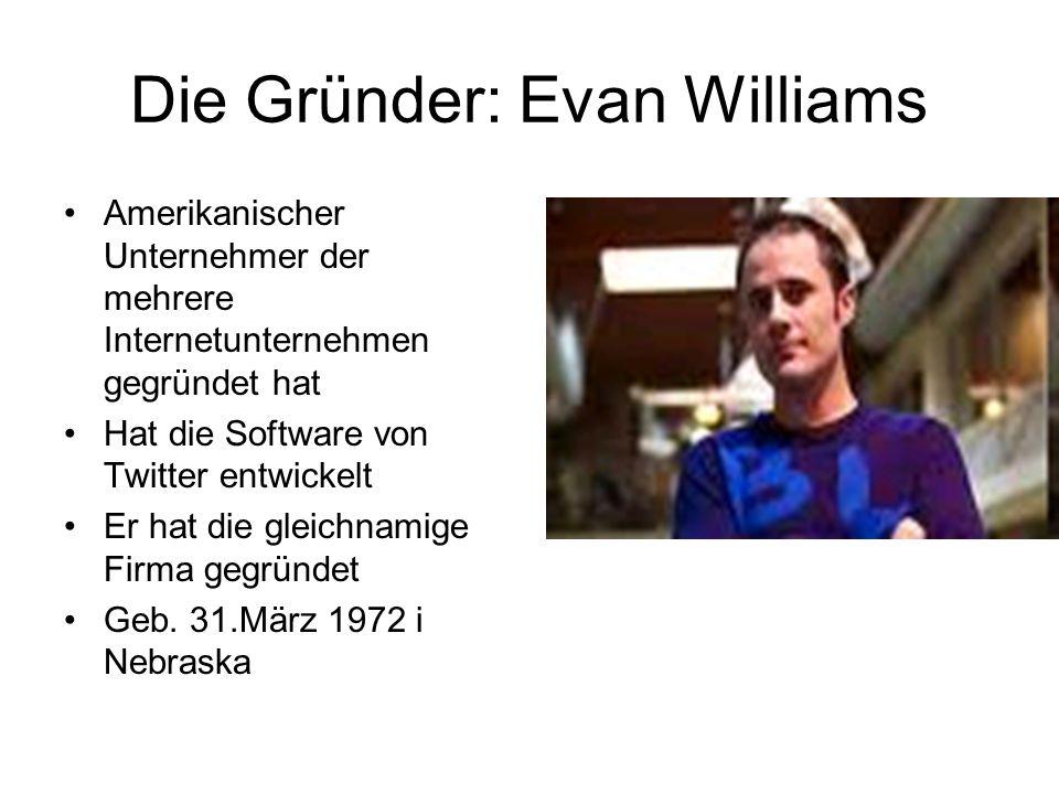 Die Gründer: Evan Williams
