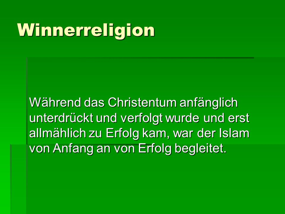 Winnerreligion