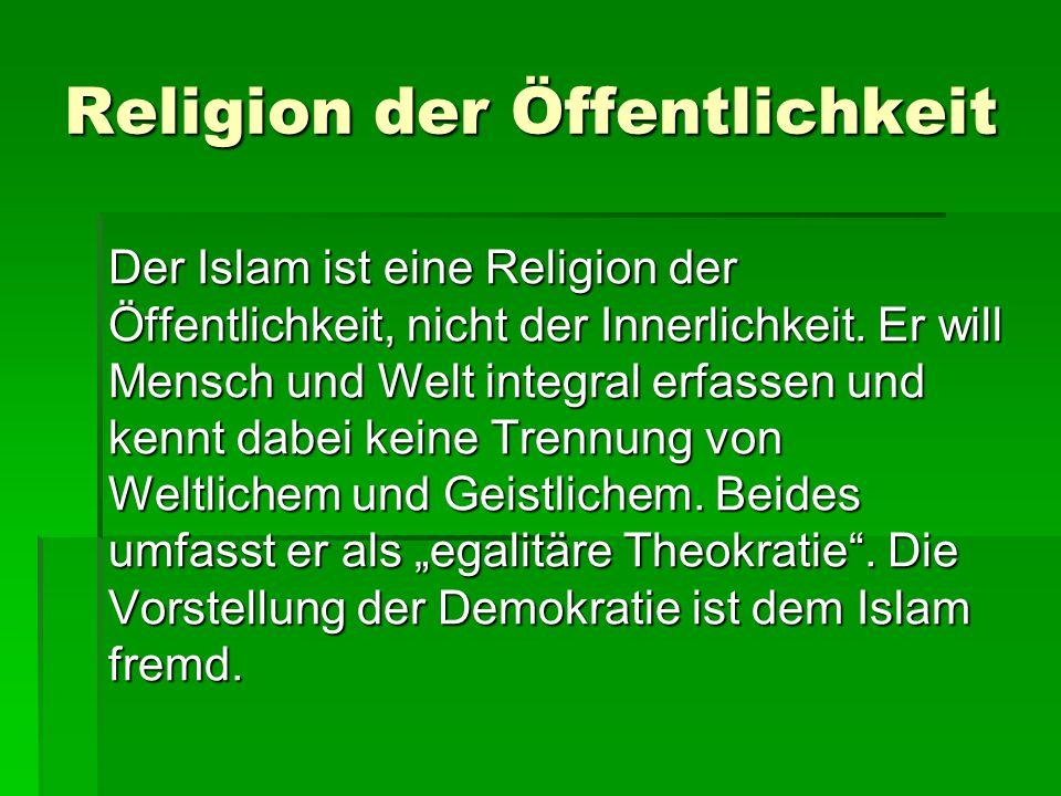 Religion der Öffentlichkeit