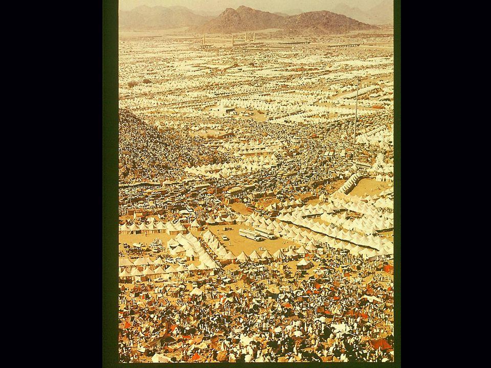 Ein Bild, das die Wallfahrt nach Mekka dokumentiert