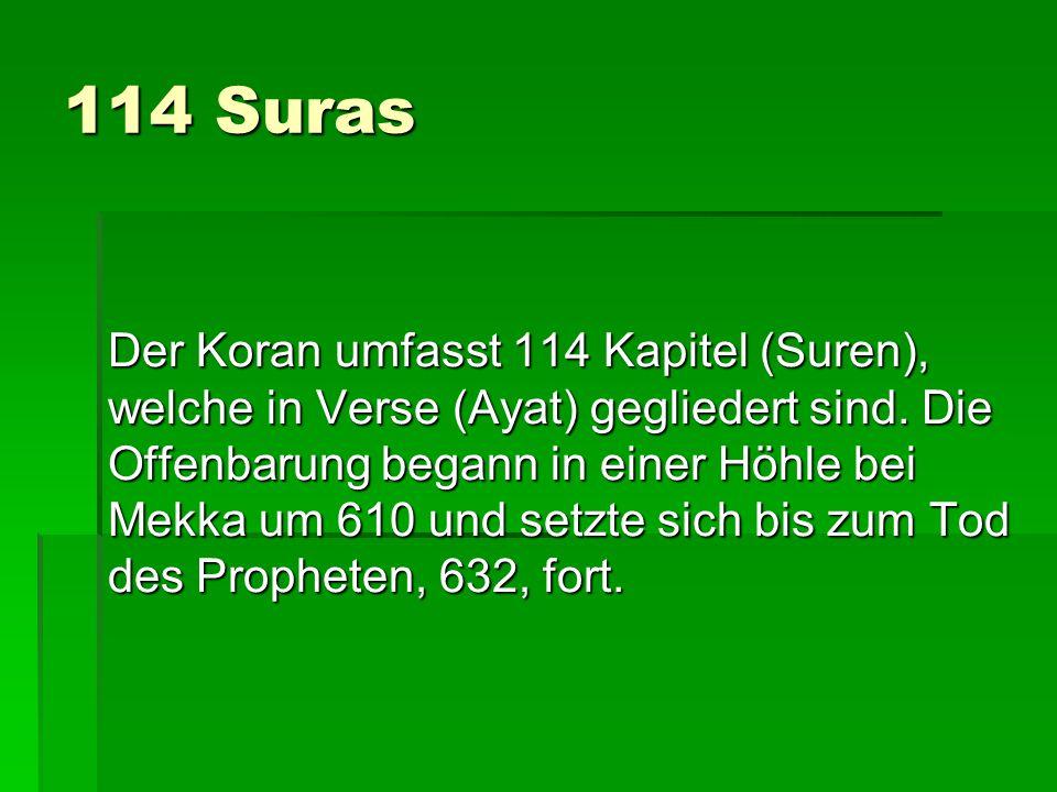 114 Suras