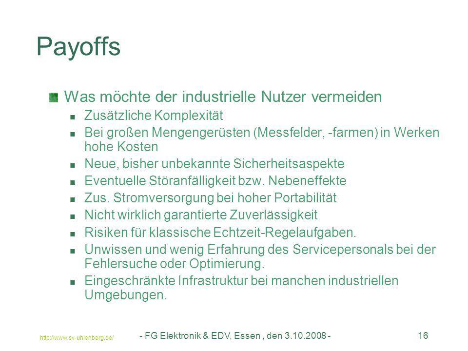 - FG Elektronik & EDV, Essen , den 3.10.2008 -