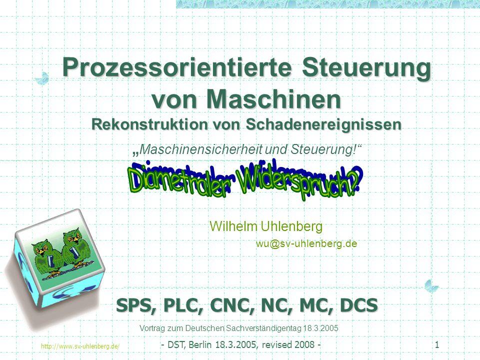DECUS, Frankfurter Treffen 2004 Wilhelm Uhlenberg wu@sv-uhlenberg.de