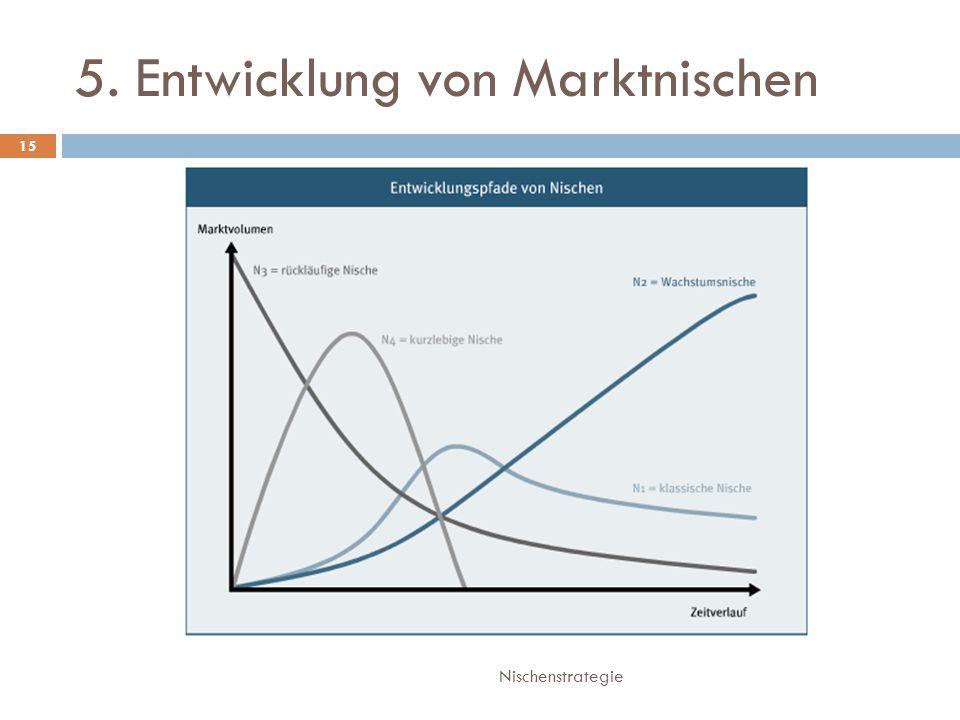 5. Entwicklung von Marktnischen