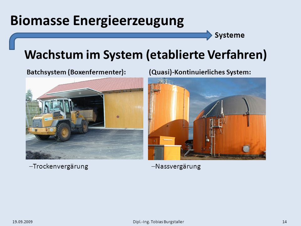 Wachstum im System (etablierte Verfahren)