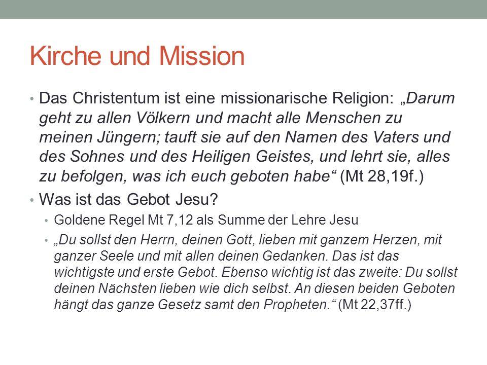 Kirche und Mission