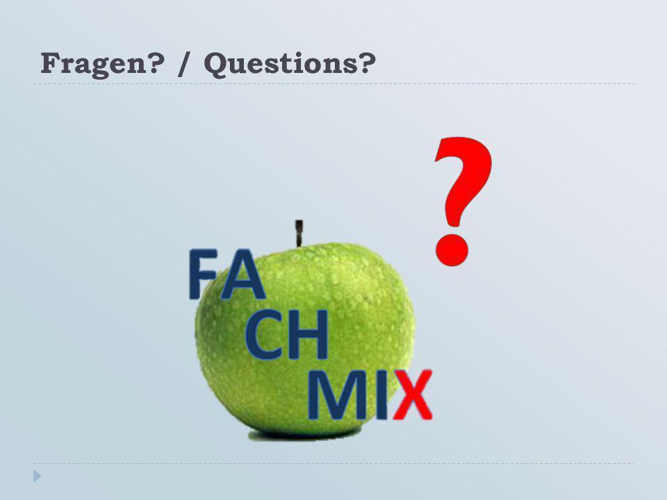 Fragen / Questions