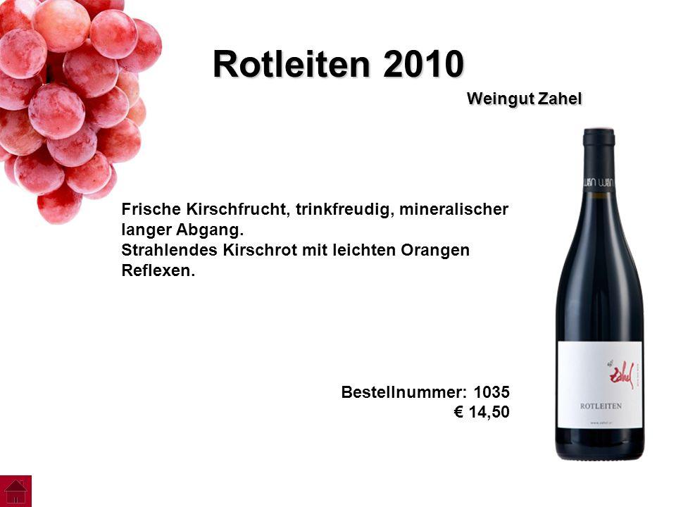 Rotleiten 2010 Weingut Zahel