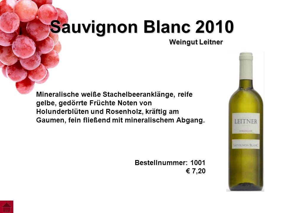 Sauvignon Blanc 2010 Weingut Leitner