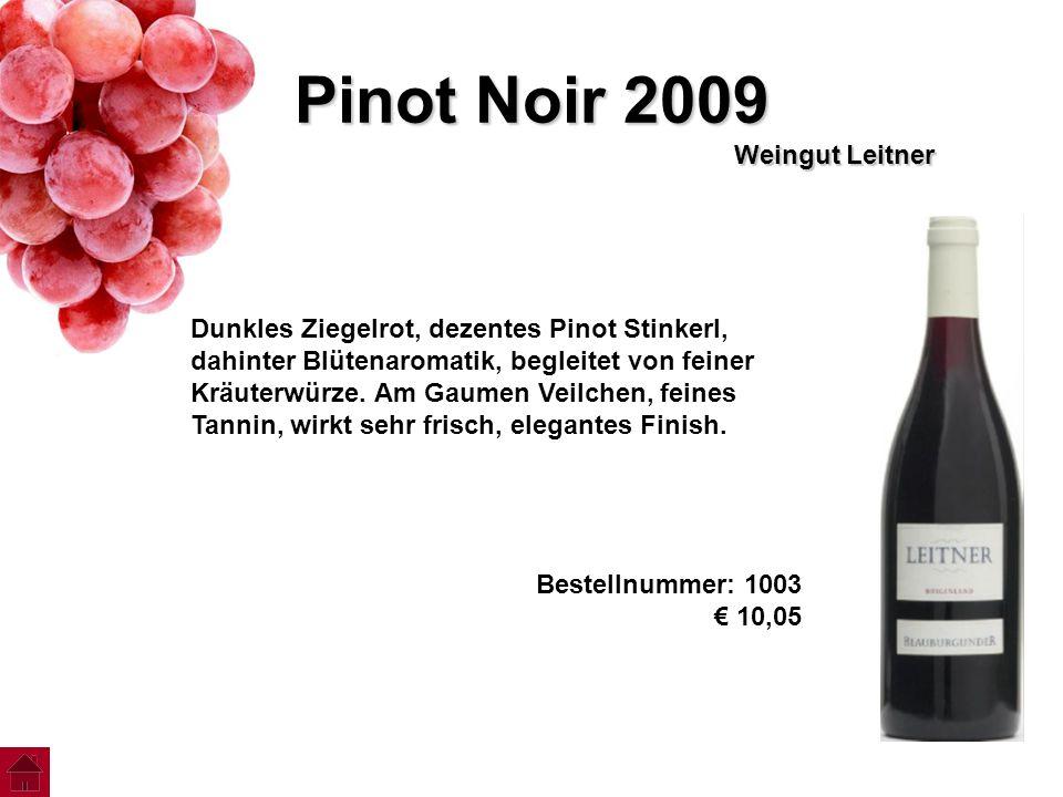 Pinot Noir 2009 Weingut Leitner