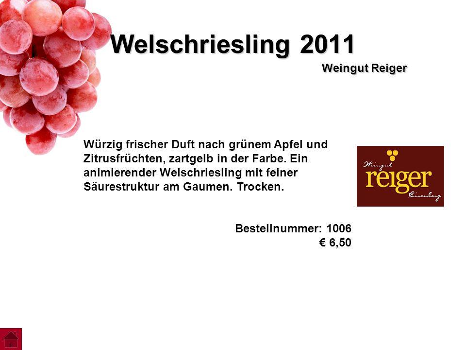 Welschriesling 2011 Weingut Reiger