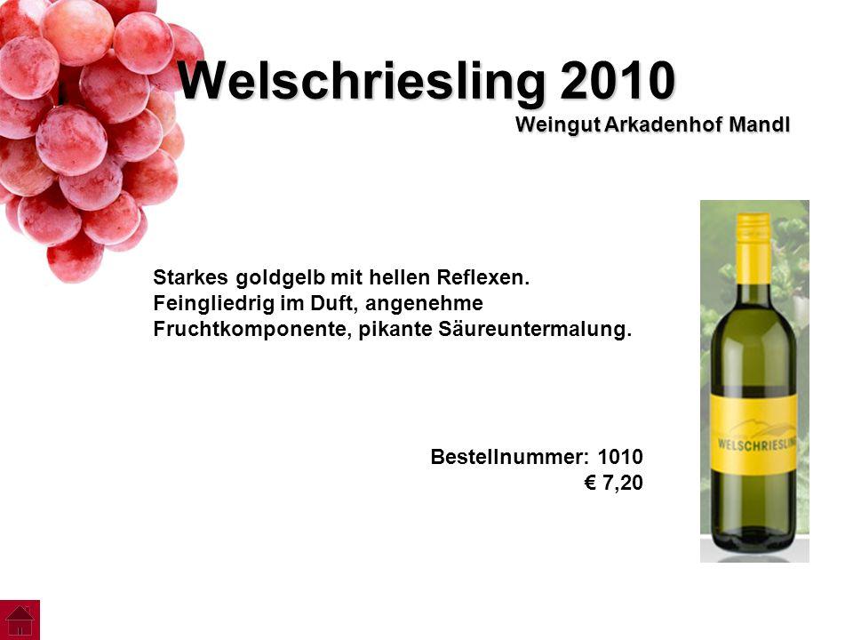 Welschriesling 2010 Weingut Arkadenhof Mandl