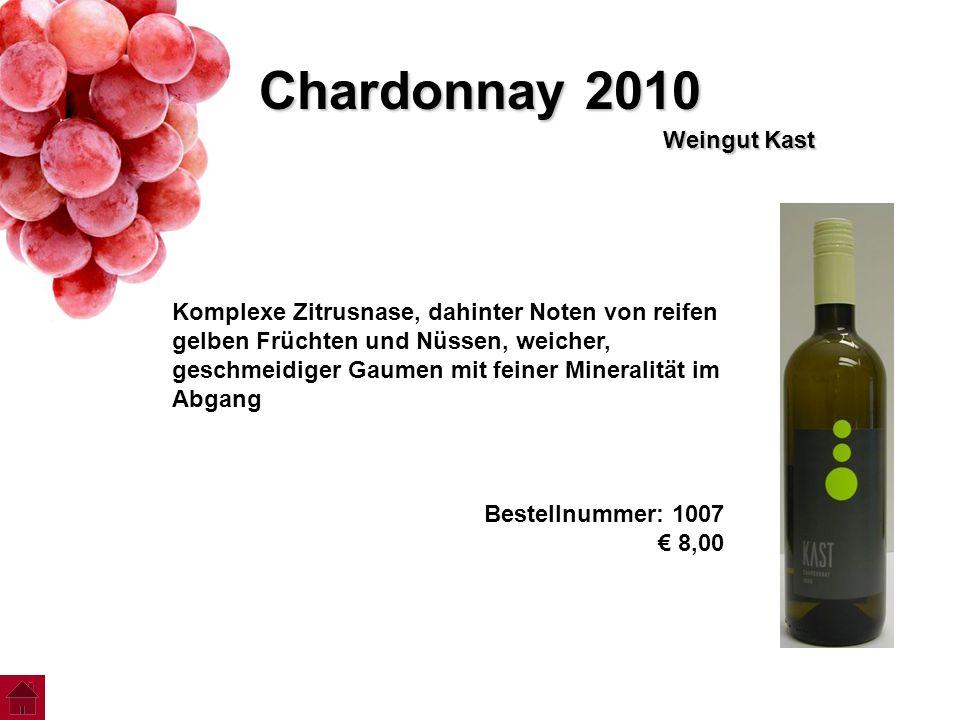 Chardonnay 2010 Weingut Kast