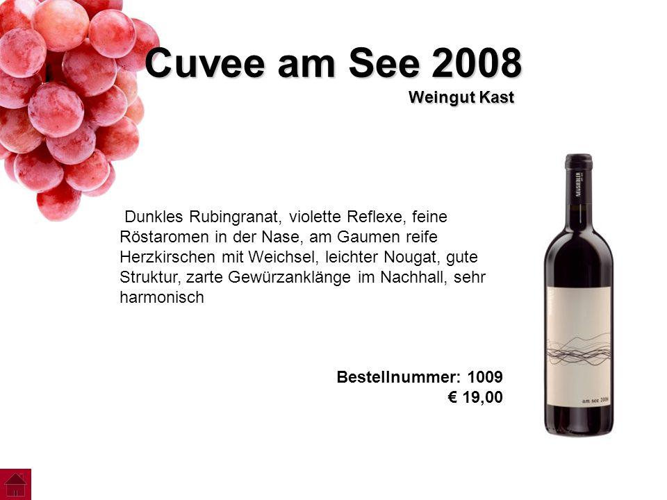Cuvee am See 2008 Weingut Kast