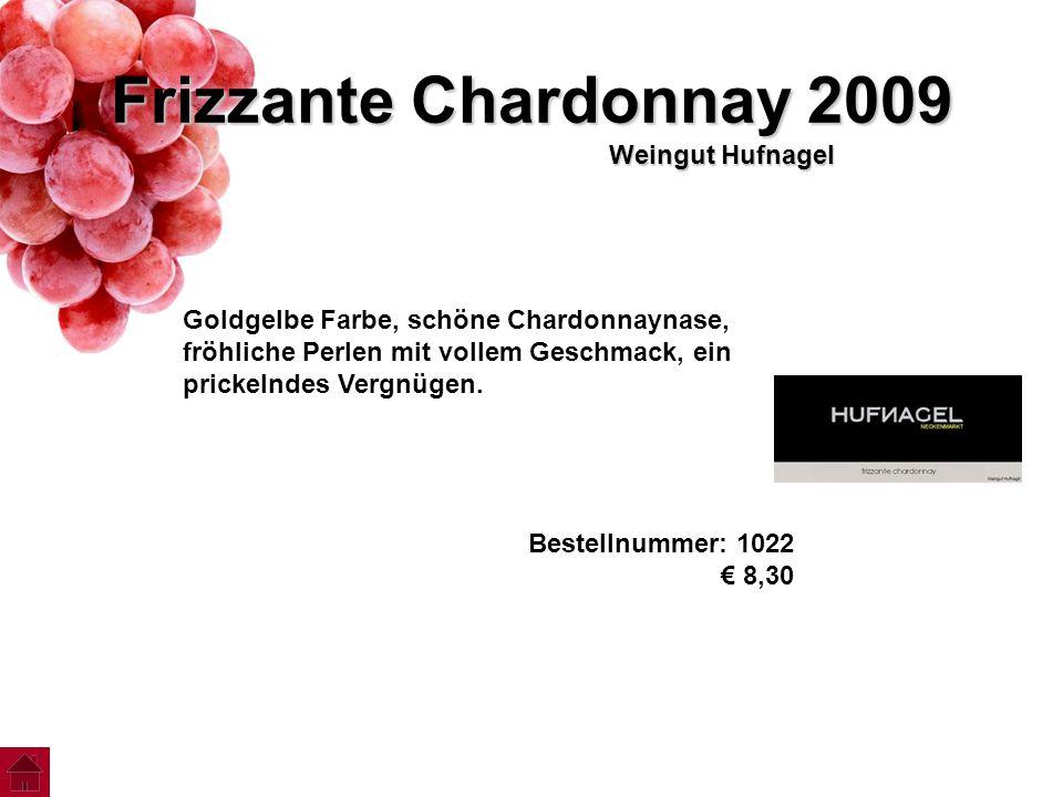 Frizzante Chardonnay 2009 Weingut Hufnagel