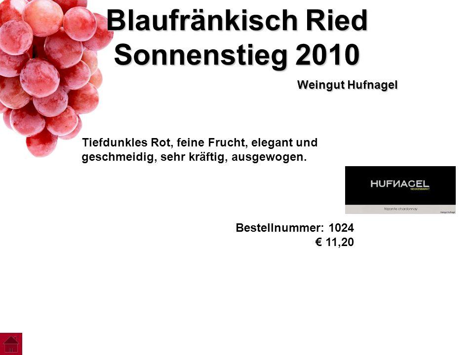 Blaufränkisch Ried Sonnenstieg 2010