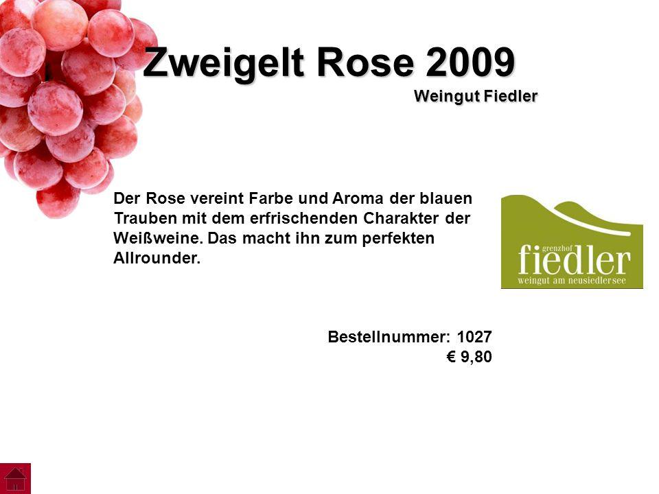 Zweigelt Rose 2009 Weingut Fiedler