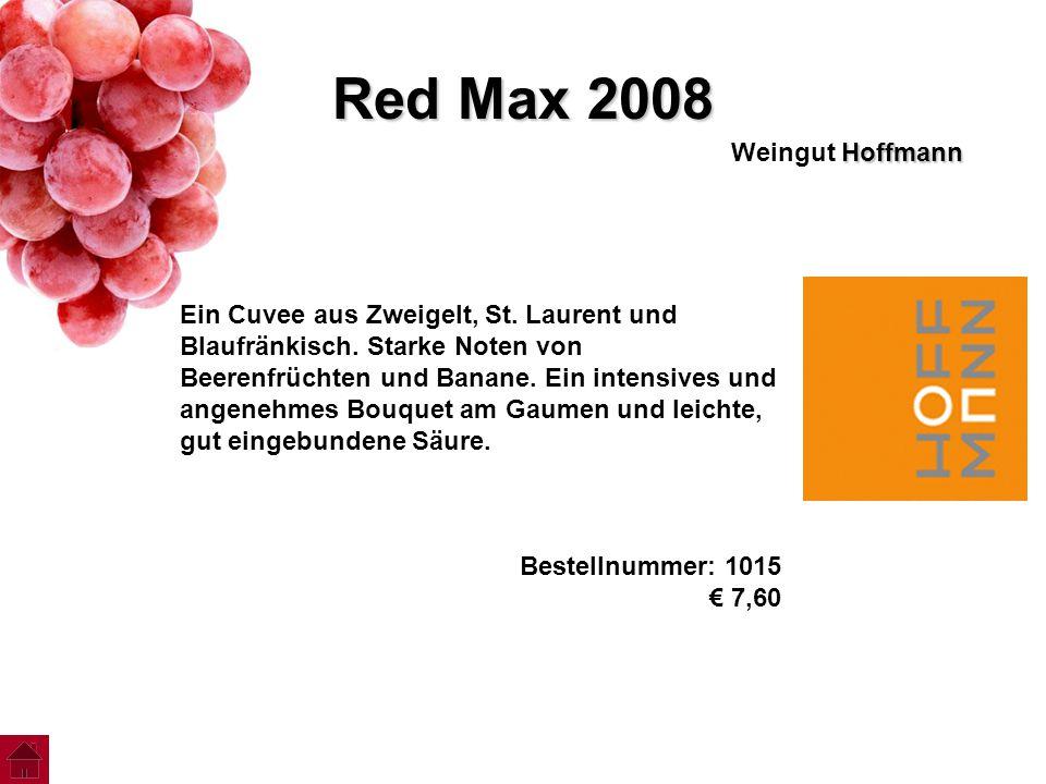 Red Max 2008 Weingut Hoffmann