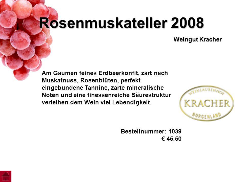 Rosenmuskateller 2008 Weingut Kracher