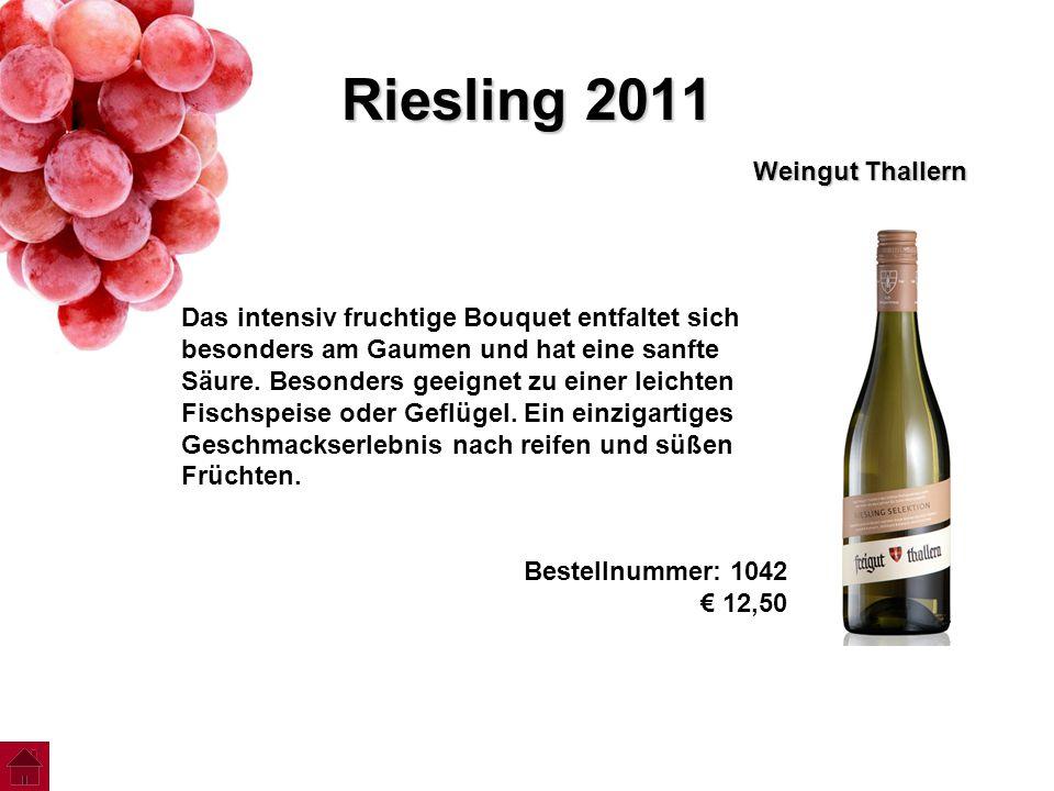 Riesling 2011 Weingut Thallern