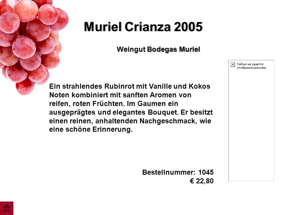 Muriel Crianza 2005 Weingut Bodegas Muriel